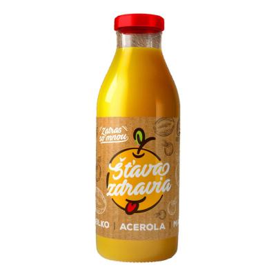 EkoMedica 100% šťava Jablko + Acerola + Mango