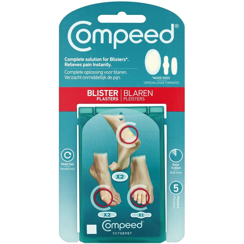 Náplasť na pľuzgiere COMPEED mixpack Transparentná