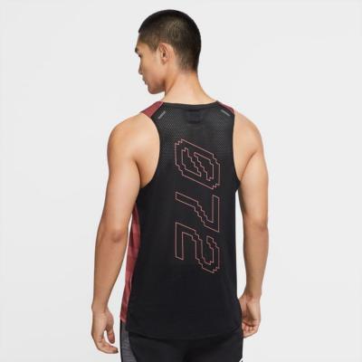 NIKE Dri-FIT Rise 365 Wild Run Claystone Red/Black