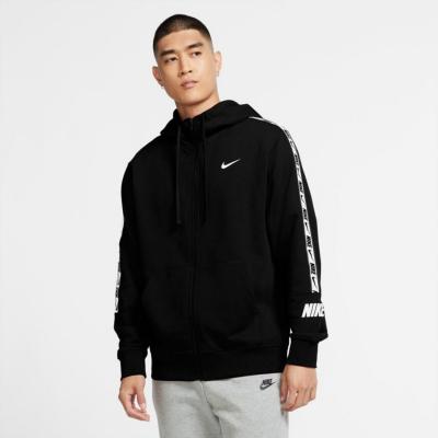 Mikina NIKE M NSW Repeat FZ FT Black