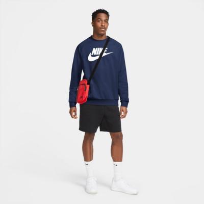 NIKE Sportswear Fleece Midnight Navy / White