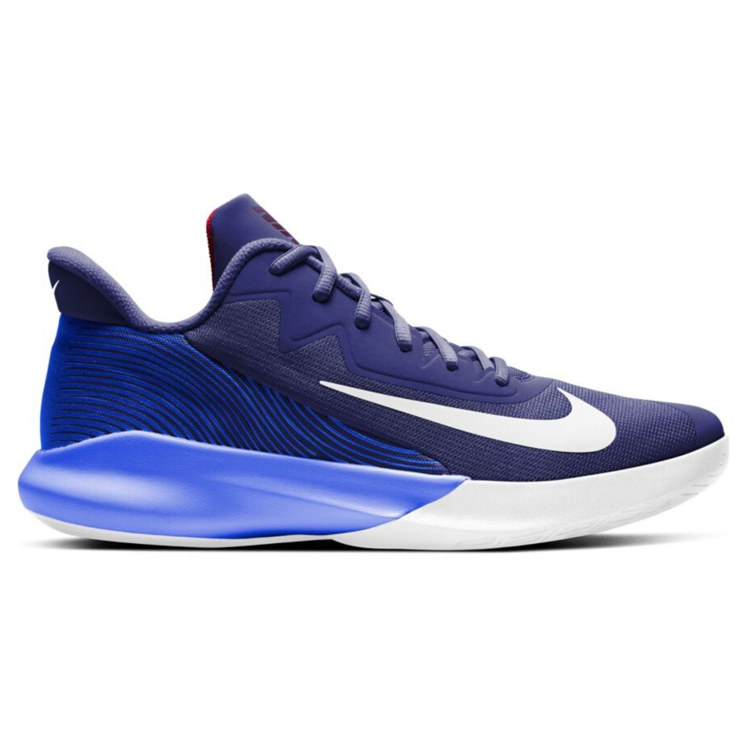 Obuv NIKE Precision IV Blue / White / Red Modrá 43