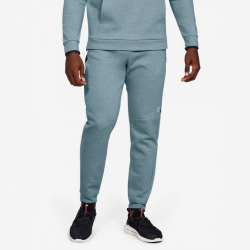 Tepláky UNDER ARMOUR Athlete Recovery Fleece Grey