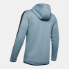 UNDER ARMOUR Athlete Recovery Fleece Full Zip Grey