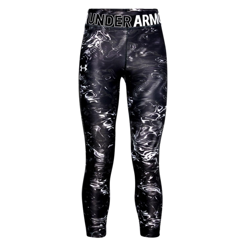 Legíny UNDER ARMOUR HG Print Black / Grey Čierna XS