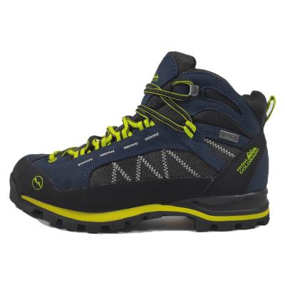 Turistická obuv HIGH COLORADO Elbrus Mid Blue/Yellow