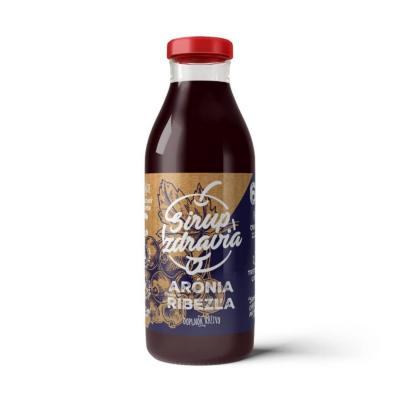 EkoMedica Sirup zdravia Arónia + Ríbezľa 300 ml