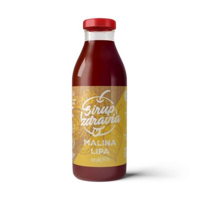 EkoMedica Sirup zdravia Malina + Lipa 300 ml