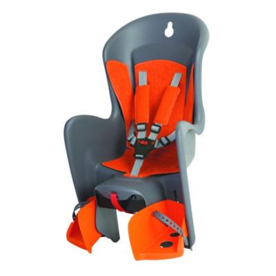 Detská sedačka zadná POLISPORT Bilby Grey/Orange