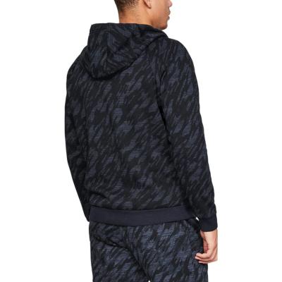UNDER ARMOUR Rival Fleece Camo Full Zip Black