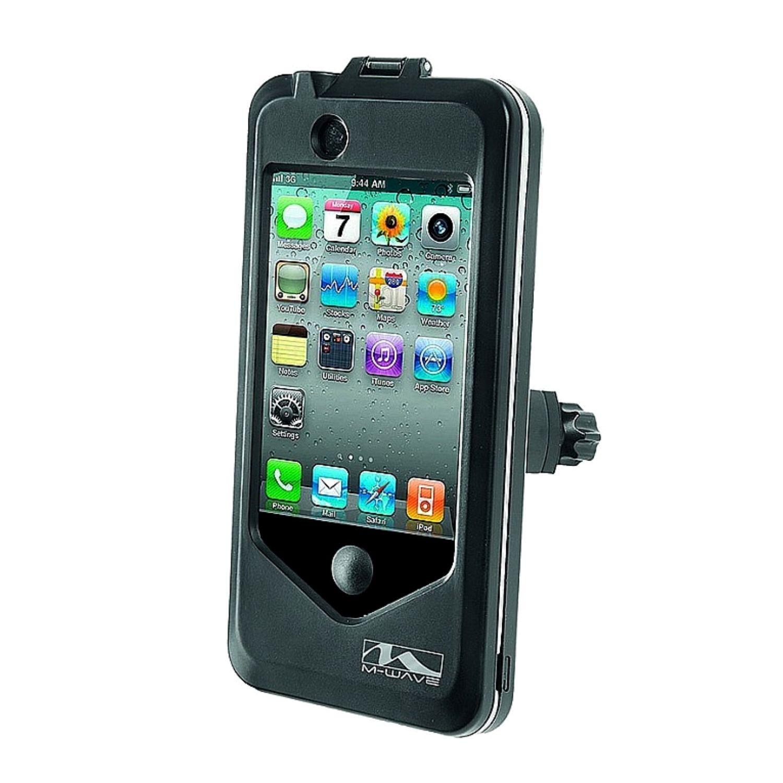 Držiak na mobil M-WAVE Black Čierna