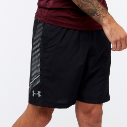 Šortky UNDER ARMOUR Woven Graphic Short Black/Grey