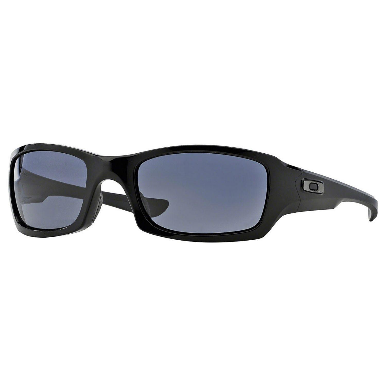 Slnečné okuliare OAKLEY Fives Squared Polished Black/Grey Čierna