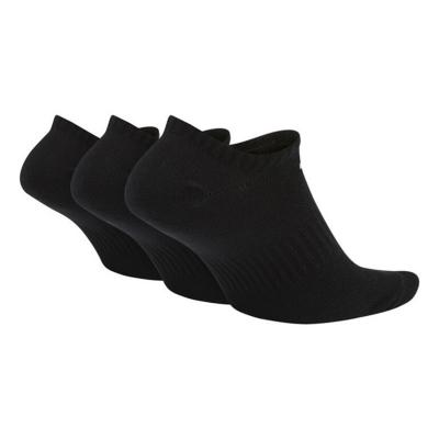 NIKE Everyday Lightweight NS 3-Pair Black