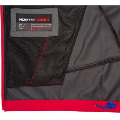 Bunda NORTHFINDER Vonnsy Black/Red