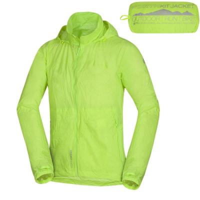 Zbaliteľná bunda NORTHFINDER Northkit Green