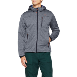 Bunda CAMPAGNOLO Jacket Zip Hood Grey