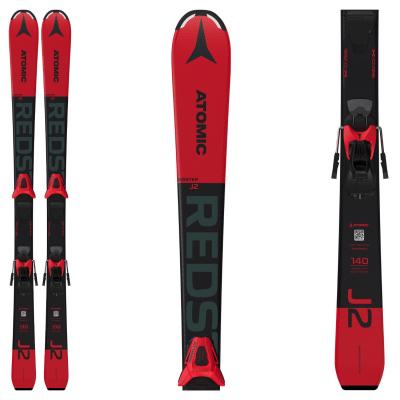 Dětské lyže ATOMIC Redster J2 130-150 + C 5 GW Red / Black