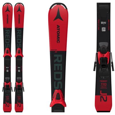 Dětské lyže ATOMIC Redster J2 100-120 + C5 GW Red / Black