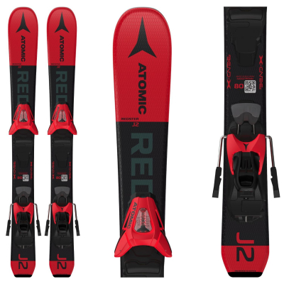 Dětské lyže ATOMIC Redster J2 70-90 + C 5 GW Red / Black