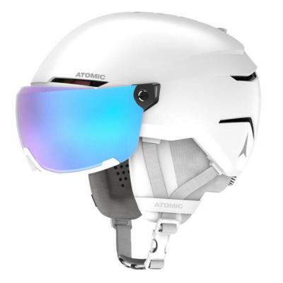 Lyžiarska prilba ATOMIC Savor Visor Stereo White Heath