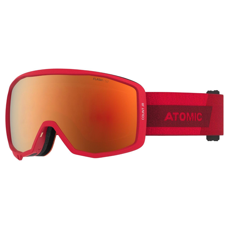 Detské okuliare ATOMIC Count JR Spherical Red Červená Normálna veľkosť