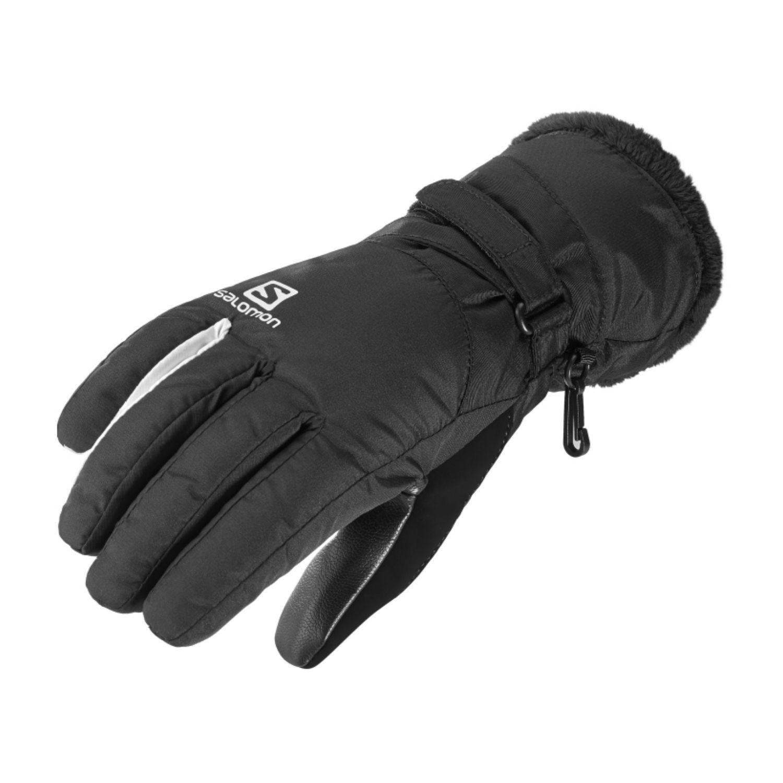Rukavice SALOMON Force Dry W Black/White Čierna XL