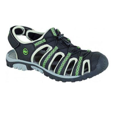 Sandále HIGH COLORADO Lago Kids Black/Green