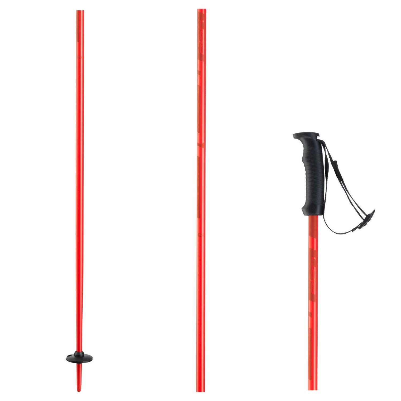 Lyžiarske palice ELAN Hotrod Red Červená 130 cm