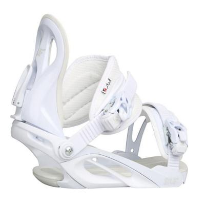 Snowboardové viazanie STUF Fame White