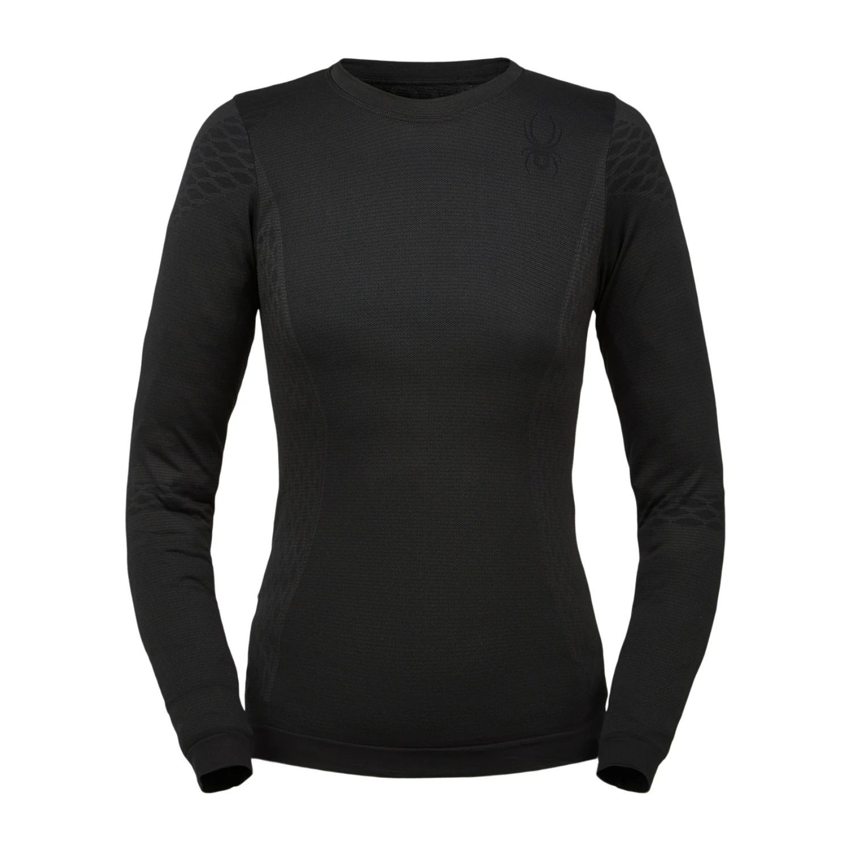 Termo tričko SPYDER Momentum Black Čierna M/L