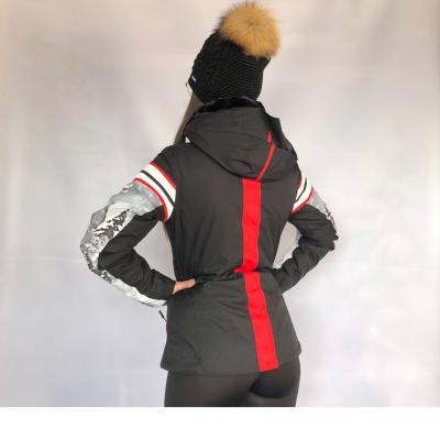 Lyžiarska bunda CAMPAGNOLO s kapucňou