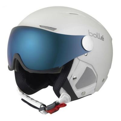 Lyžiarska prilba BOLLÉ Backline Visor Premium White/Silver