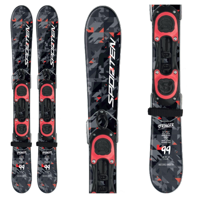 Krátke lyže SPORTEN Stinger Čierna 99 cm