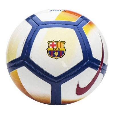 Futbalová lopta NIKE FCB White/Red