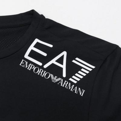 EMPORIO ARMANI Vigor7 Tee Black