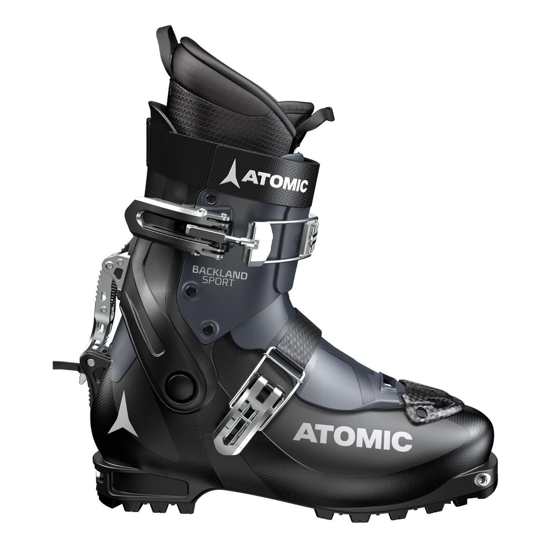 Skialpinistické lyžiarky ATOMIC Backland Sport Black/Dark Blue Čierna 26.0/26.5