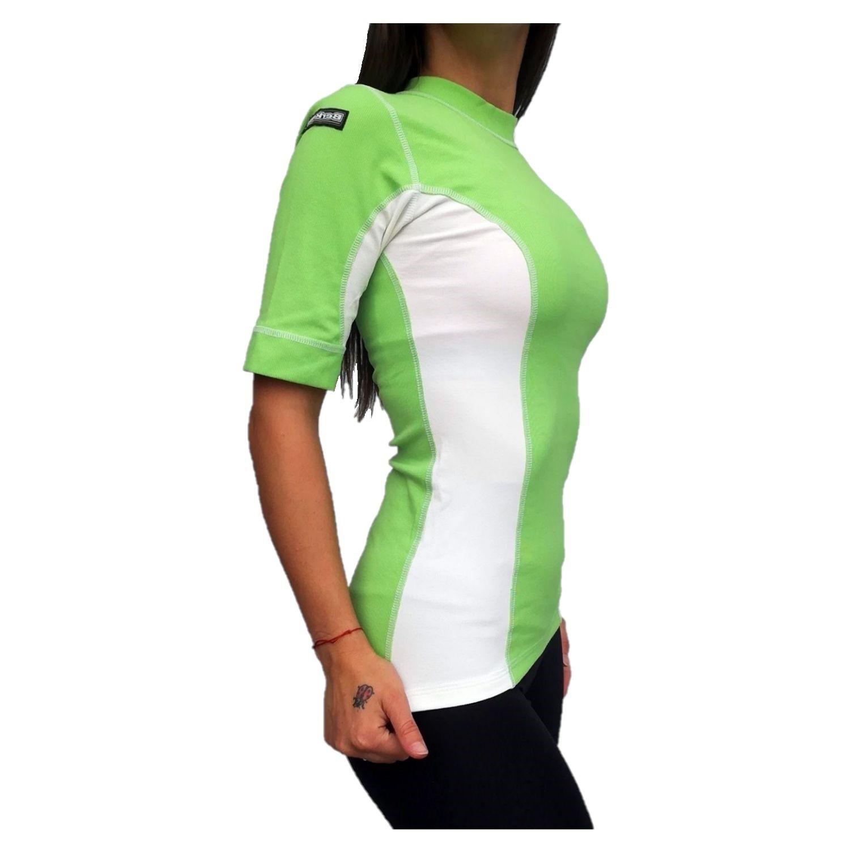 Termo tričko BERKNER Action s krátkym rukávom Zelená M