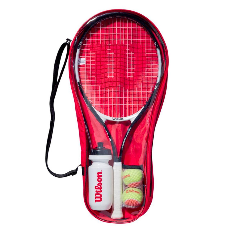 Detský set WILSON Roger Federer Starter Kit 25 (8-10 rokov) Červená