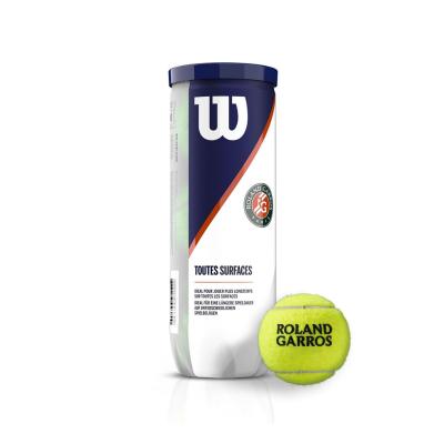 Tenisové loptičky WILSON Roland Garros All CT 3 Ball