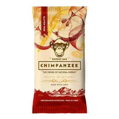 Energetická tyčinka CHIMPANZEE Apple/Ginger ID produktu: 99599 Kód produktu: