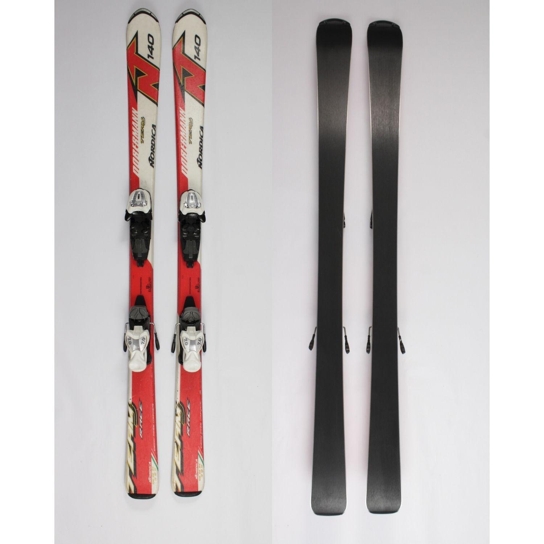 Jazdené bazárové lyže NORDICA Dobermann Team 140 cm