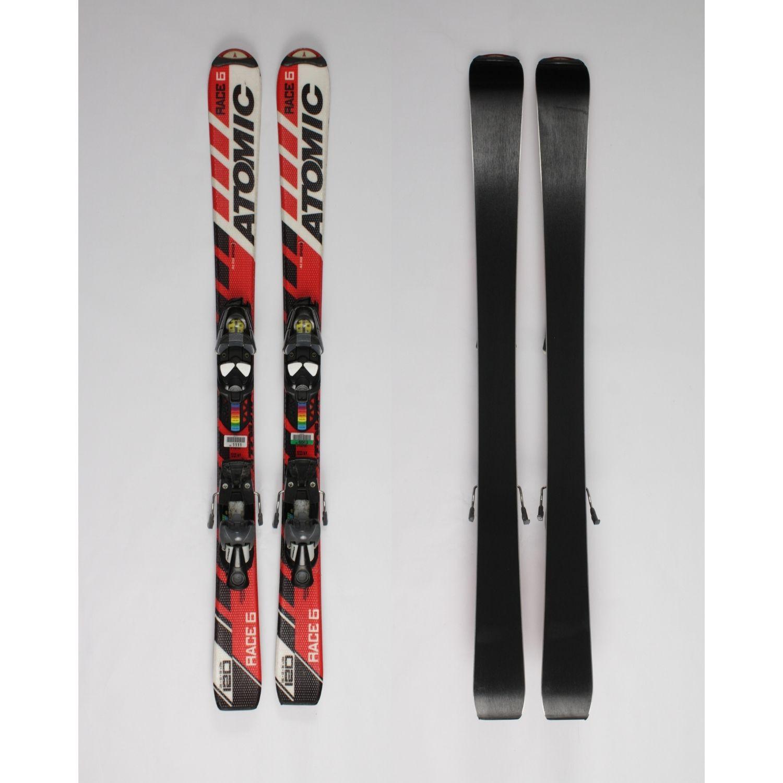 Jazdené bazárové lyže ATOMIC Race 6 120 cm