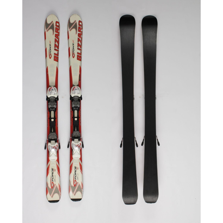 Jazdené bazárové lyže BLIZZARD Gforce Jun 120 cm