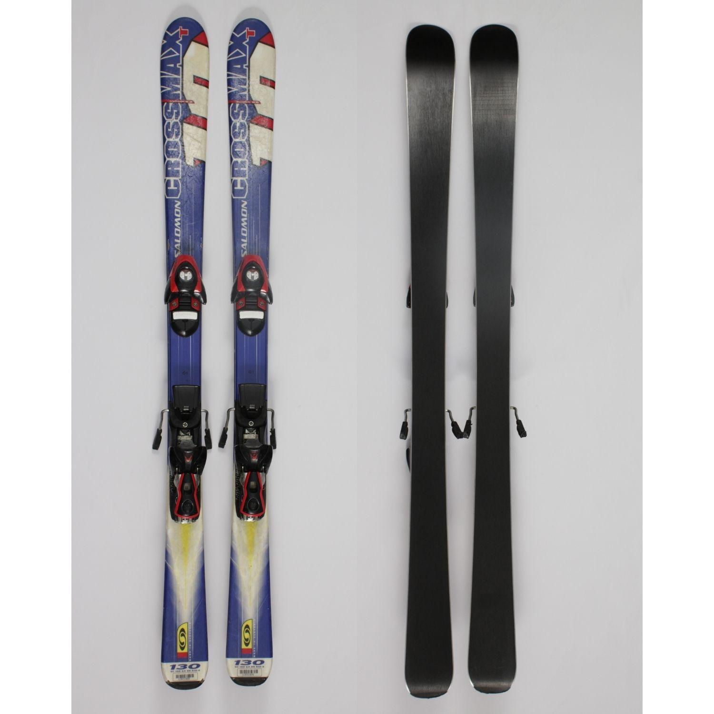 Jazdené bazárové lyže SALOMON Crossmax T 130 cm