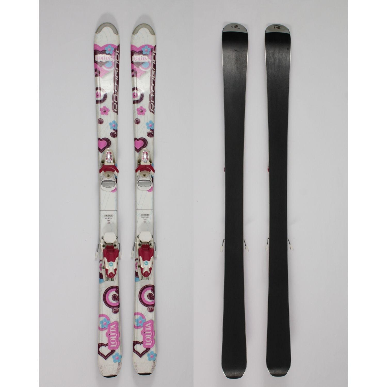 Jazdené bazárové lyže ROSSIGNOL Lolita 130 cm