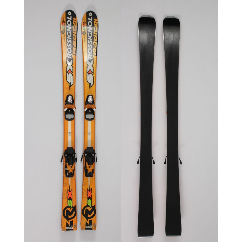 Jazdené bazárové lyže ROSSIGNOL Radial 130 cm