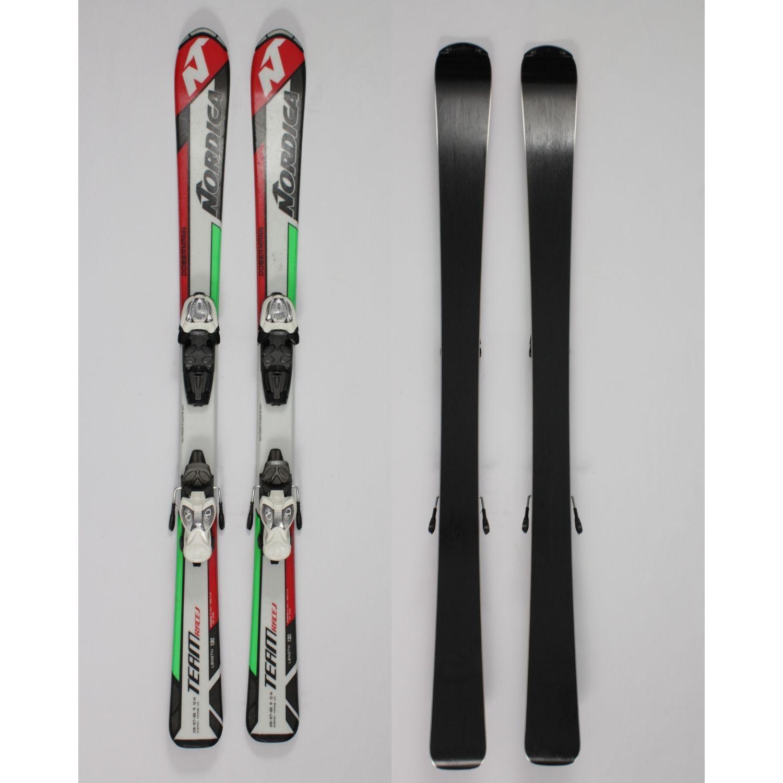 Jazdené bazárové lyže NORDICA Team Race J 130 cm