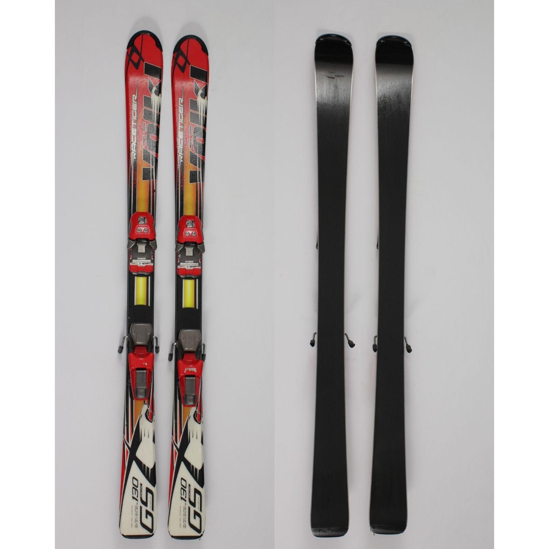 Jazdené bazárové lyže VOLKL Racetiger Junior 130 cm