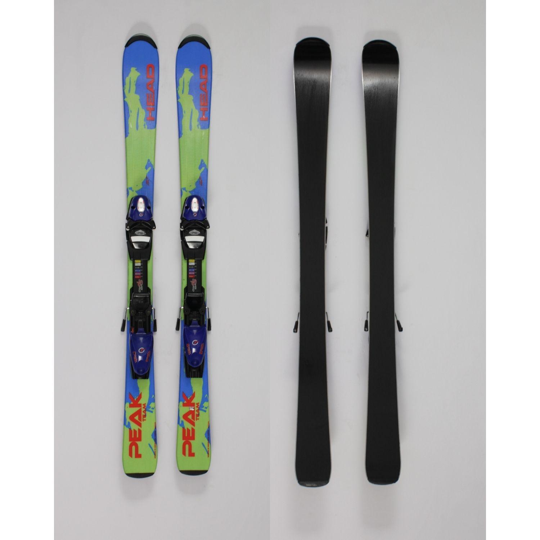 Jazdené bazárové lyže HEAD Peak Team 120 cm